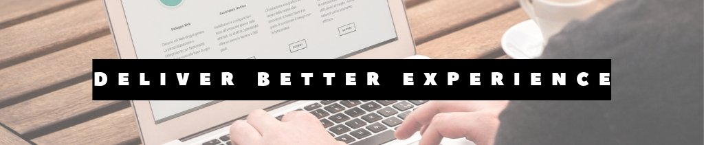 SEO delivers better user experience