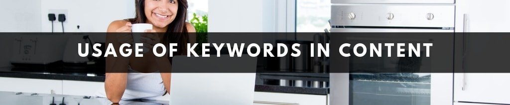 Writing Checklist | How to use keywords in Content