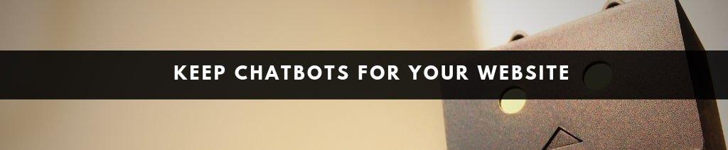 Website Design Ideas | chatbots for websites