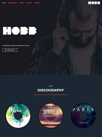 website for dj